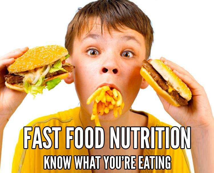 Fast Food Restaurants Nutrition Facts