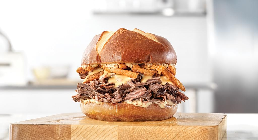 Arby's Beer Braised Beef Sandwich Nutrition Facts