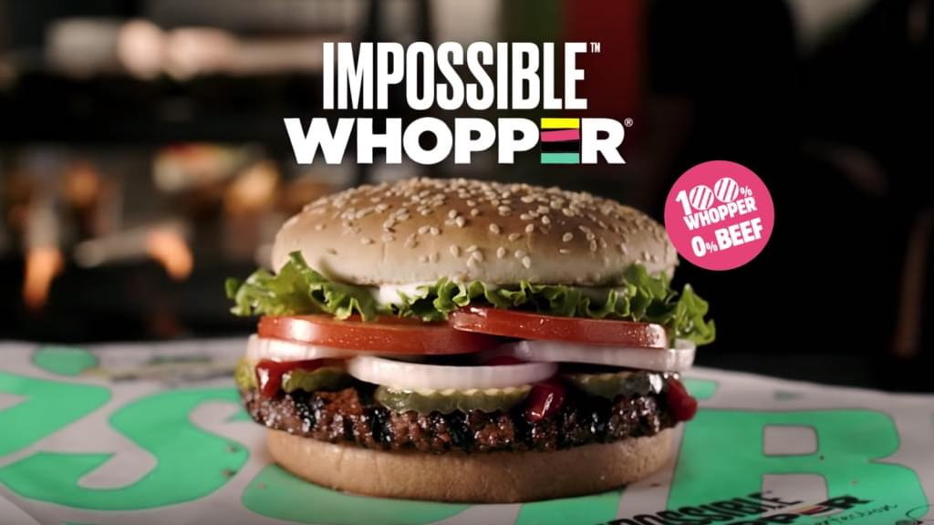 Burger King Impossible Whopper Nutrition Facts