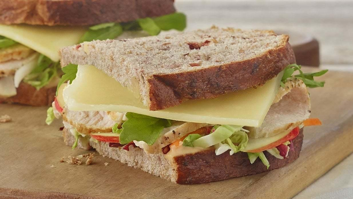 Panera Whole Roasted Turkey, Apple & Cheddar Sandwich Nutrition Facts