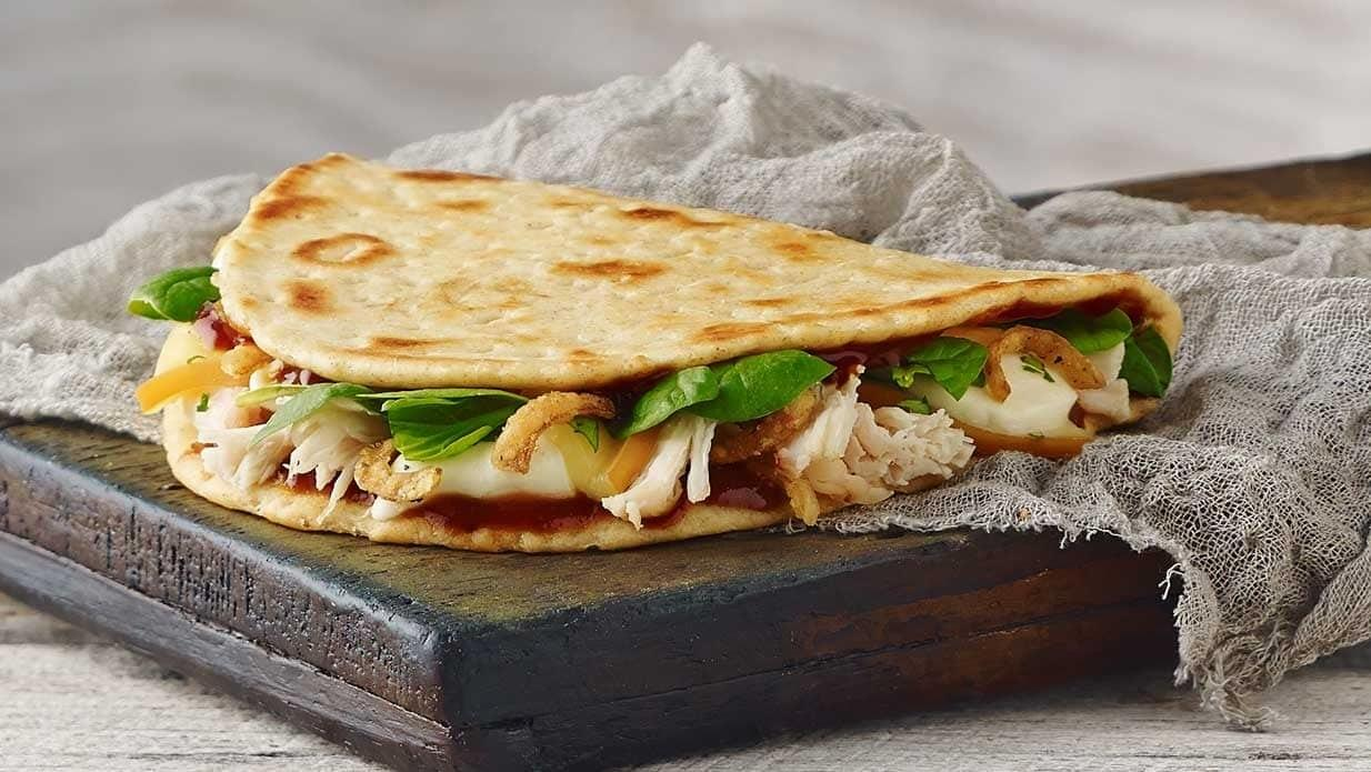 Panera Whole BBQ Chicken Flatbread Nutrition Facts