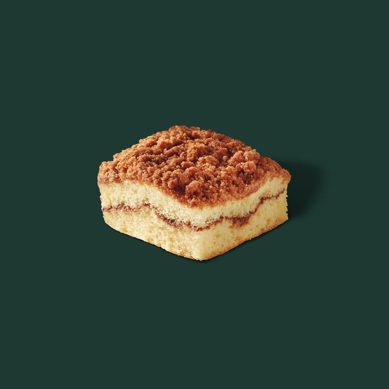 Starbucks Classic Coffee Cake Nutrition Facts
