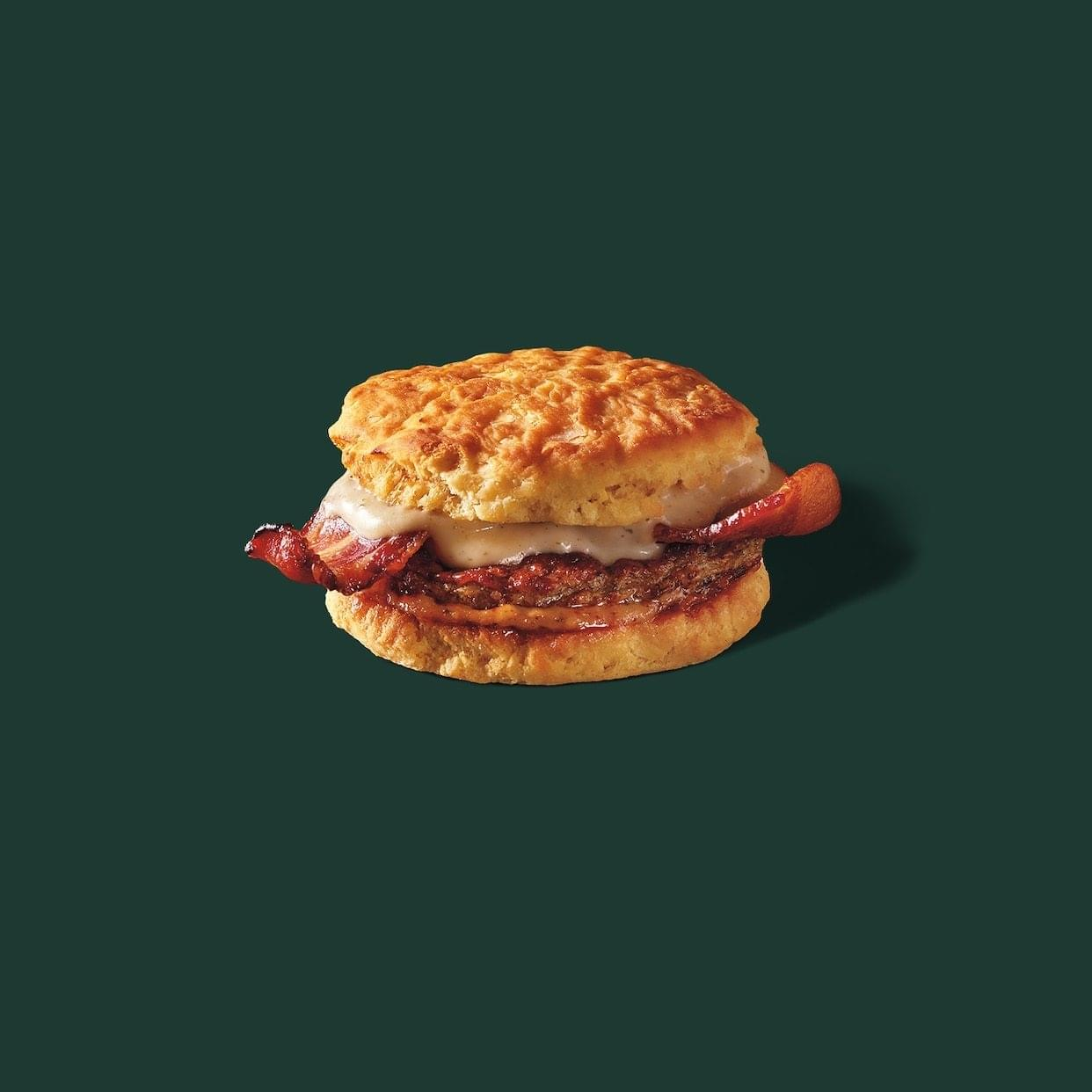 Starbucks Chicken Sausage & Bacon Biscuit Nutrition Facts