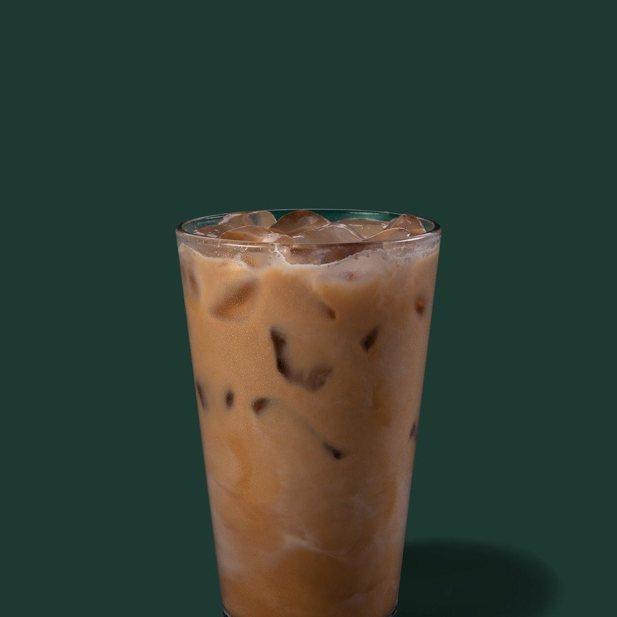 Starbucks Tall Reserve Iced Hazelnut Bianco Latte Nutrition Facts