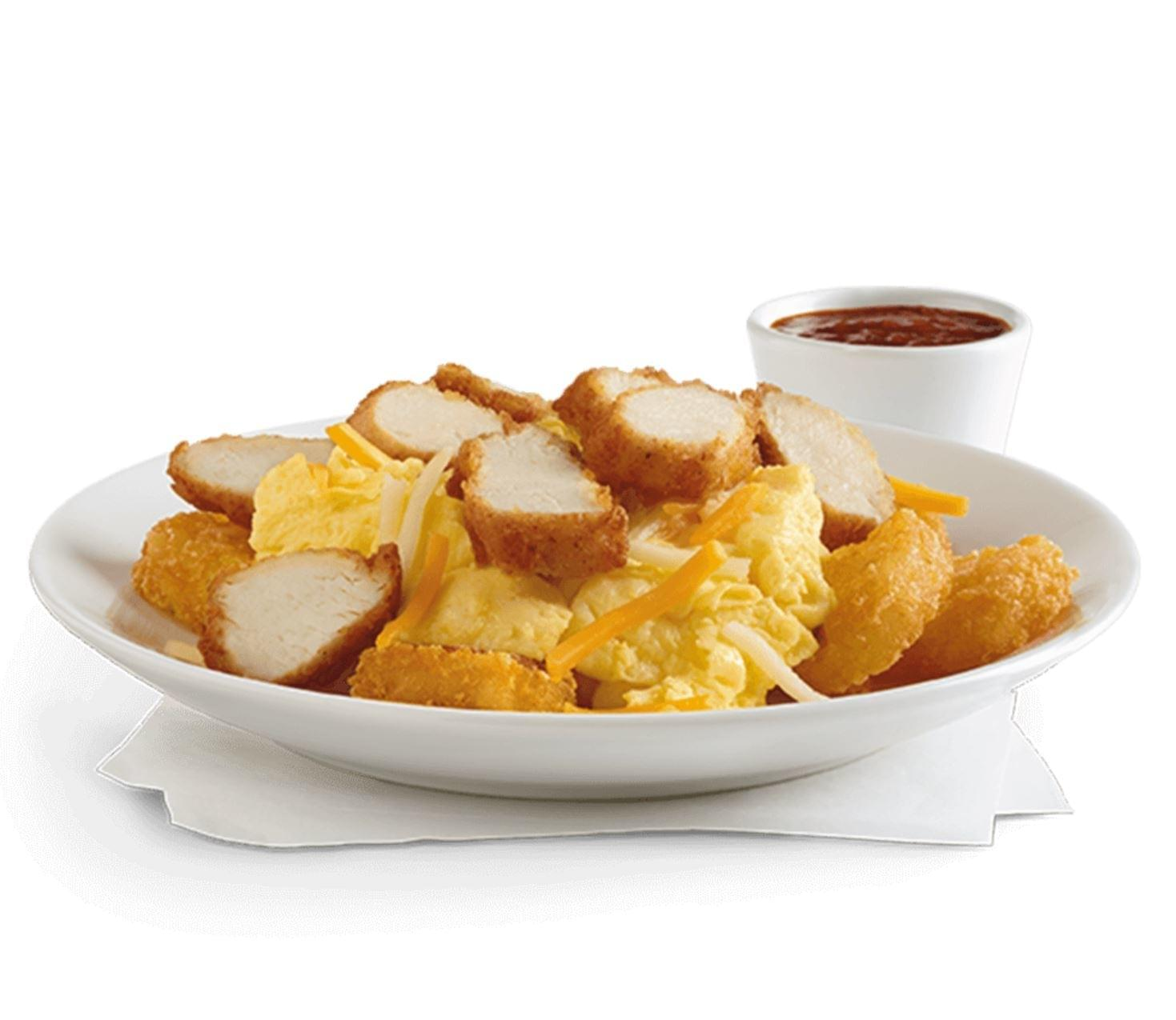 Chick-fil-A Grilled Chicken Hash Brown Scramble Bowl Nutrition Facts