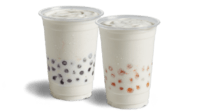 Del Taco Peach Mini Shake Poppers