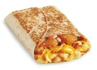 Del Taco Breakfast Toasted Wrap