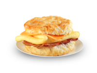 Bojangles Bacon, Egg & Cheese Biscuit