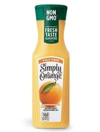 Del Taco Simply Orange Juice