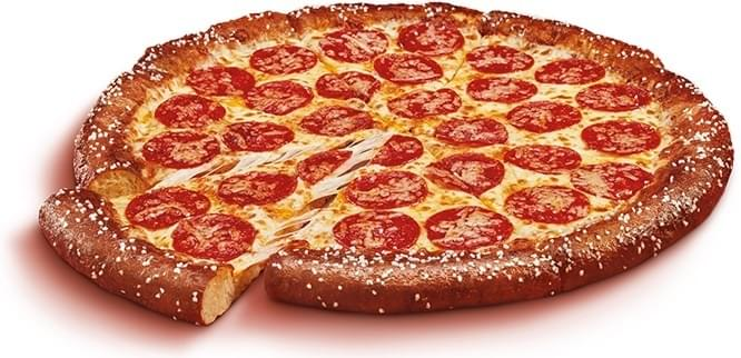 Little Caesars Soft Pretzel Crust Pepperoni Pizza Nutrition Facts