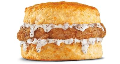 Hardee's Pork Chop 'n Gravy Biscuit Nutrition Facts
