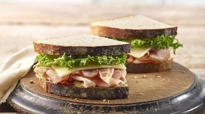 Panera Heritage Ham & Swiss Sandwich Nutrition Facts