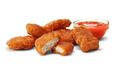 McDonald's 10 Piece Spicy Chicken McNuggets Nutrition Facts