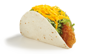 Del Taco Honey Mango Crispy Chicken Taco Nutrition Facts