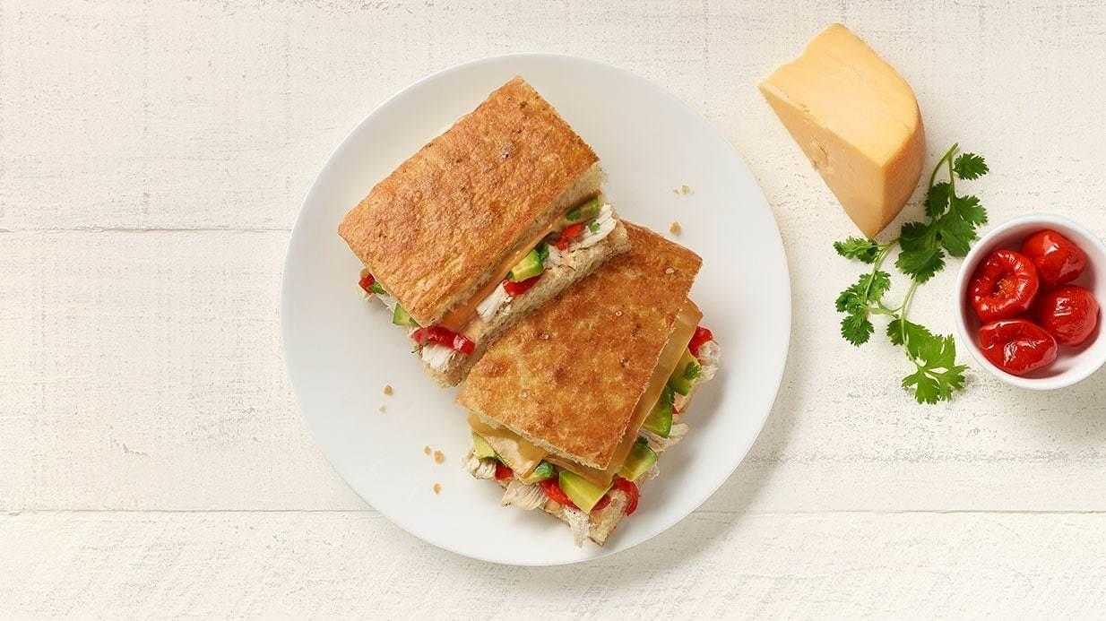 Panera Whole Chipotle Chicken Avocado Melt Nutrition Facts