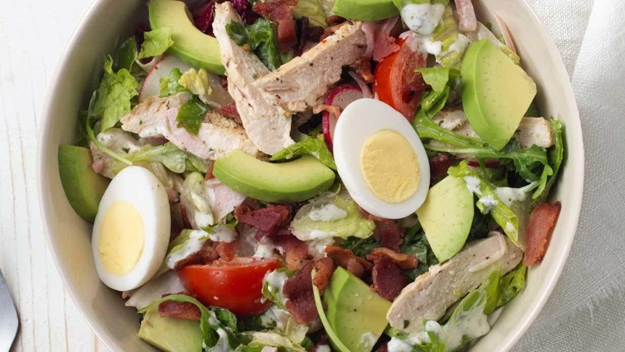 Panera Green Goddess Cobb Salad with Chicken Nutrition Facts