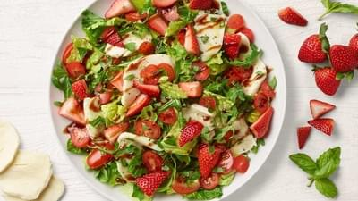 Panera Summer Strawberry Caprese Salad Nutrition Facts