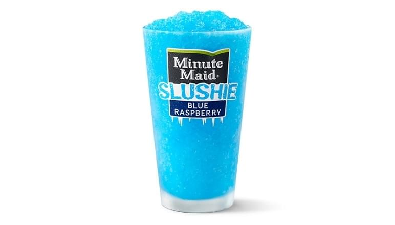 McDonald's Minute Maid Blue Raspberry Slushie Nutrition Facts