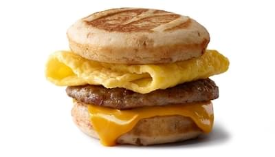 McDonald's Sausage, Egg & Cheese McGriddles Nutrition Facts