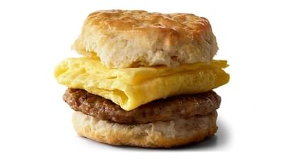 McDonald's Sausage Biscuit with Egg Regular Size Nutrition Facts