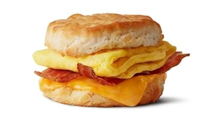 McDonald's Bacon, Egg & Cheese Biscuit Nutrition Facts