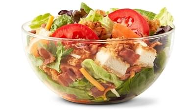 McDonald's Premium Bacon Ranch Salad w/ Grilled Chicken Nutrition Facts