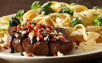 Olive Garden Gorgonzola Topped Sirloin Steak Nutrition Facts