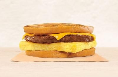 Burger King Sausage Egg Amp Cheese French Toast Sandwich