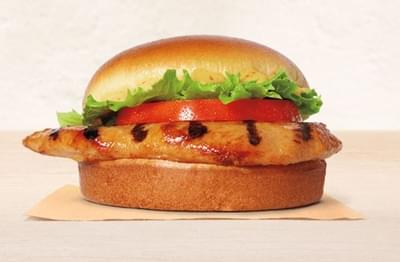 Burger King Grilled Chicken Sandwich Nutrition Facts