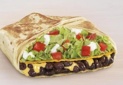 Taco Bell Black Bean Crunchwrap Supreme Nutrition Facts