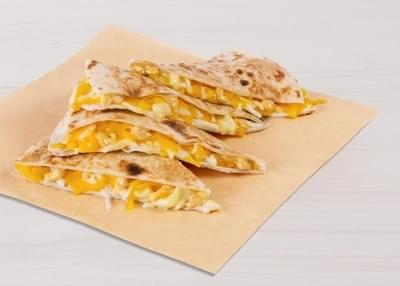 Taco Bell Cheese Quesadilla Nutrition Facts