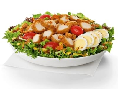 Chick-fil-A Cobb Salad w/ Chicken Nuggets Nutrition Facts