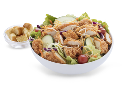 Bojangles Chicken Supremes Salad Nutrition Facts