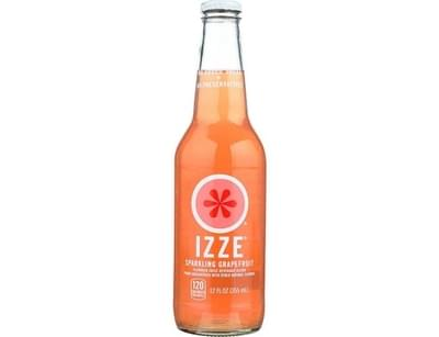 Chipotle Izze Sparkling Grapefruit Soda Nutrition Facts