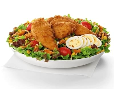 Chick-fil-A Cobb Salad w/ Chick-n-Strips Nutrition Facts