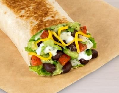 Taco Bell Cantina Power Burrito - Veggie Nutrition Facts