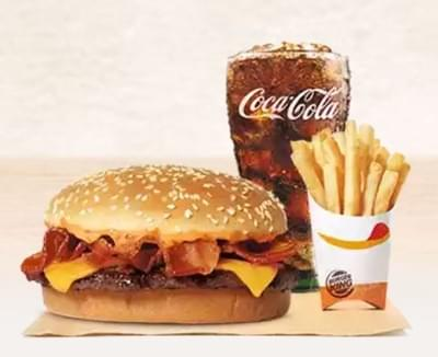 Burger King Single Stacker King Nutrition Facts