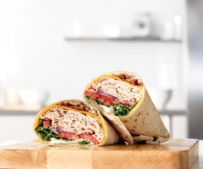 Arby's Roast Turkey, Ranch & Bacon Wrap Nutrition Facts