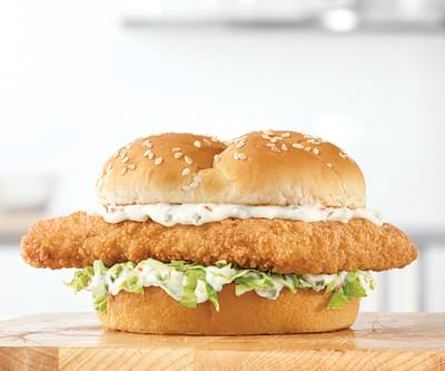 Arby's Crispy Fish Sandwich Nutrition Facts