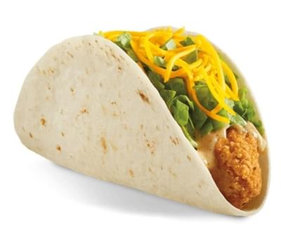 Del Taco Habanero Crispy Chicken Taco Nutrition Facts