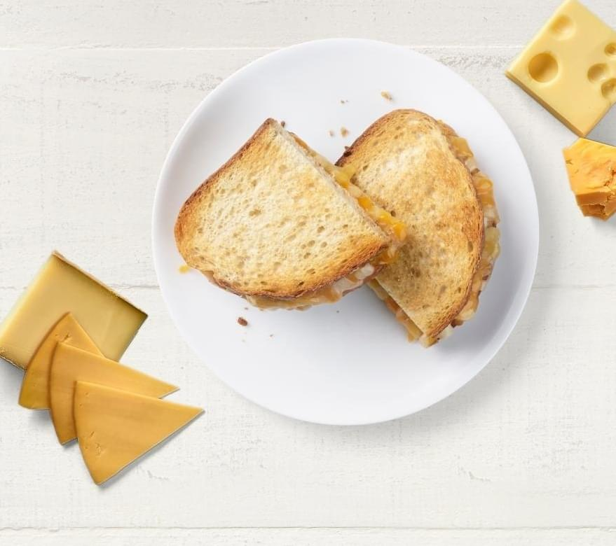 Panera Half Four Cheese Grilled Cheese Nutrition Facts
