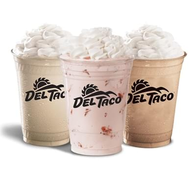 Del Taco Strawberry Shake Nutrition Facts
