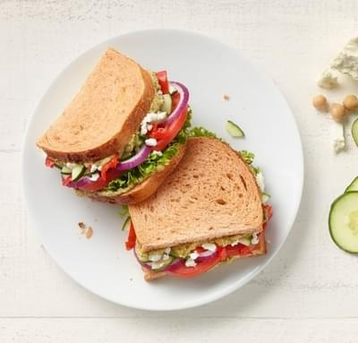 Panera Mediterranean Veggie Sandwich Nutrition Facts