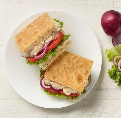 Panera Half Tuna Salad Sandwich Nutrition Facts