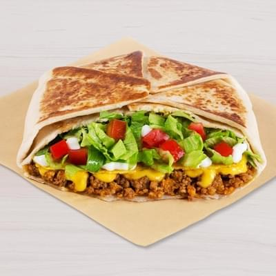 Taco Bell Crunchwrap Supreme® Nutrition Facts