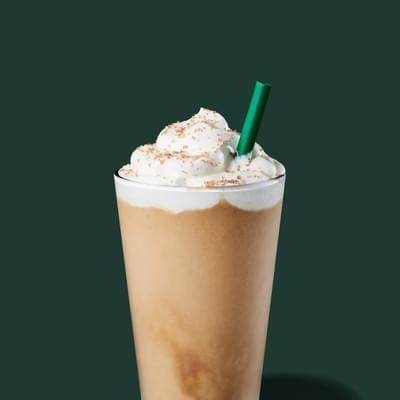 Starbucks Pistachio Frappuccino Nutrition Facts