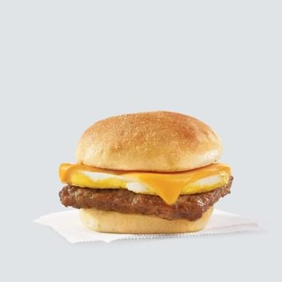 Wendy's Classic Sausage, Egg & Cheese Sandwich Nutrition Facts