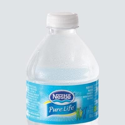 Wendy's Nestlé Pure Life Bottled Water Nutrition Facts