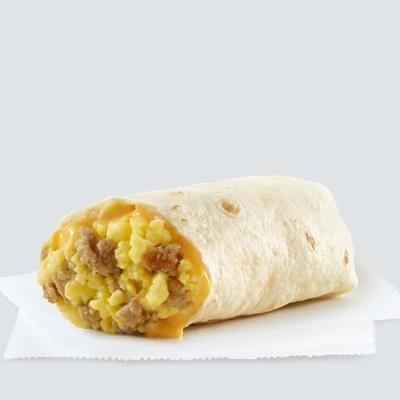 Wendy's Sausage & Egg Burrito Nutrition Facts