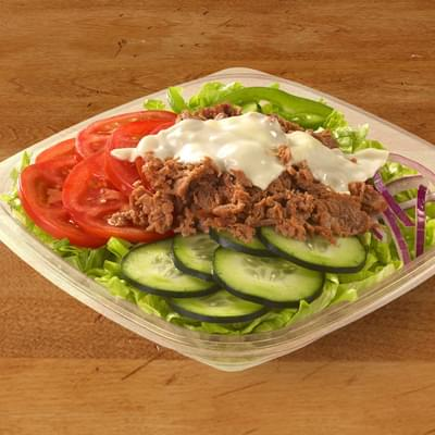 Subway Steak & Cheese Salad Nutrition Facts